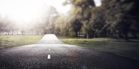 Road Travel Journey Nature Scenics Concept